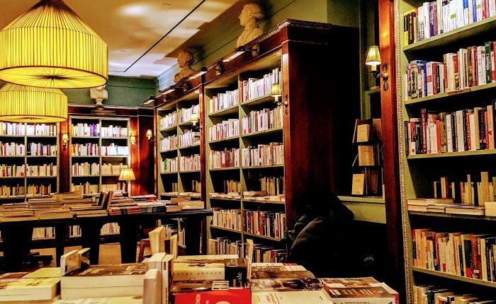 Seis livrarias