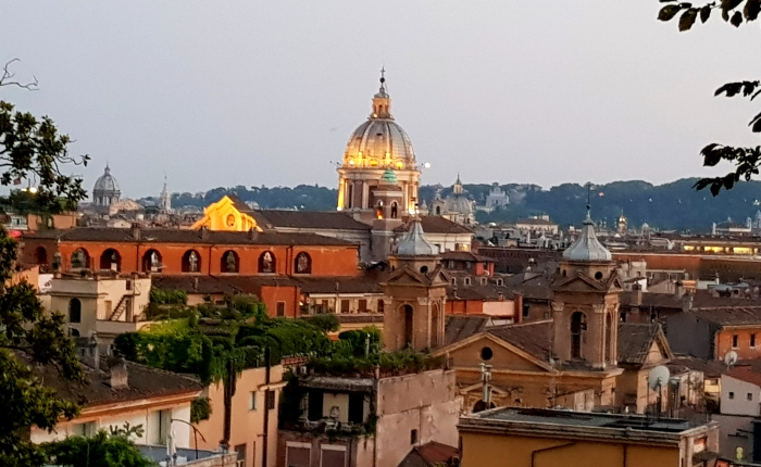 O Palazzo Spada e seusgatos